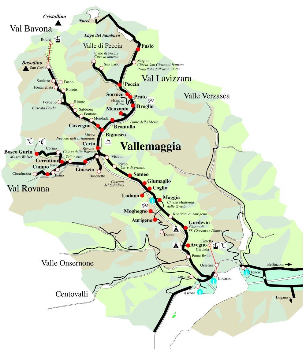 CASA ALLA CASCATA, Maggia, Vallemaggia, Ticino, Svizzera ...